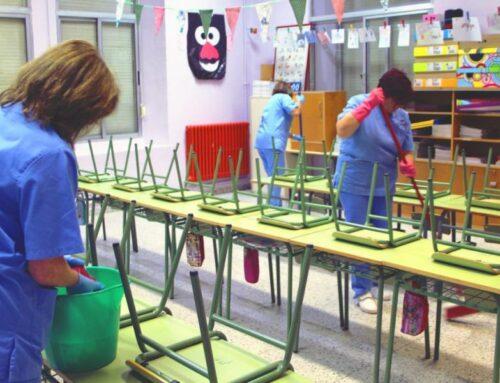Πρόσκληση σε Τηλεδιάσκεψη με πρόεδρους σωματείων εργαζομένων με σύμβαση μίσθωσης έργου στην καθαριότητα σχολικών μονάδων